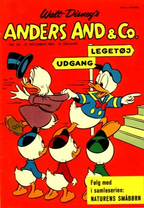 Anders And & Co. nr.  50 - 1961 (lille)