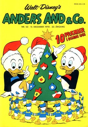 Anders And & Co. nr.  50 - 1970 (lille)