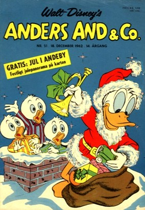 Anders And & Co. nr.  51 - 1962 (lille)