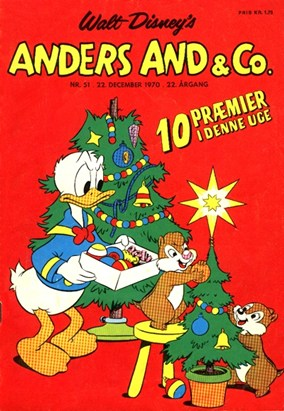 Anders And & Co. nr.  51 - 1970 (lille)