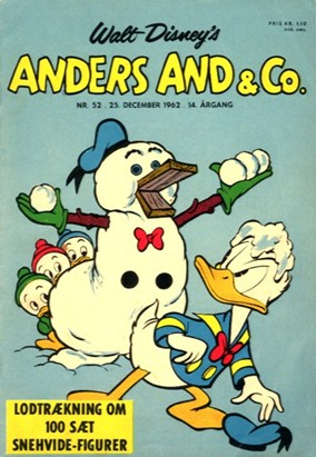 Anders And & Co. nr.  52 - 1962 (lille)
