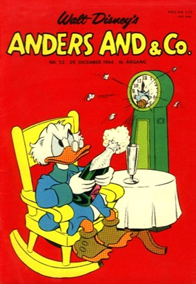 Anders And & Co. nr.  52 - 1964 (lille)