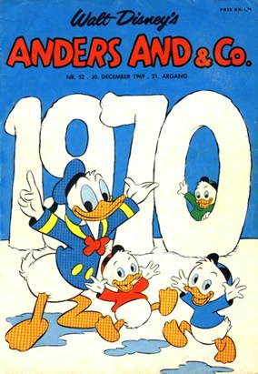 Anders And & Co. nr.  52 - 1969 (lille)