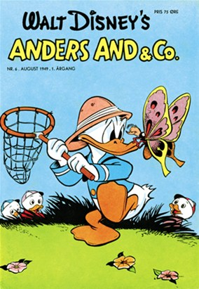 Anders And & Co. nr.  6 - 1949 (lille)