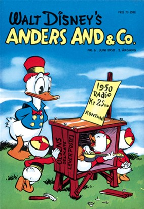 Anders And & Co. nr.  6 - 1950 (lille)