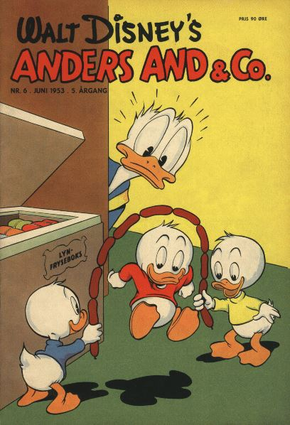 Anders And & Co. nr.  6 - 1953 (lille)