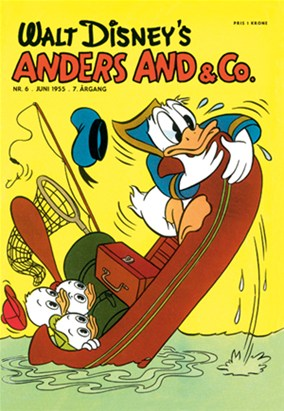 Anders And & Co. nr.  6 - 1955 (lille)