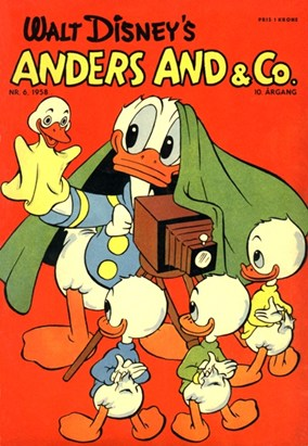 Anders And & Co. nr.  6 - 1958 (lille)