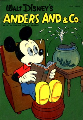 Anders And & Co. nr.  6 - 1959 (lille)