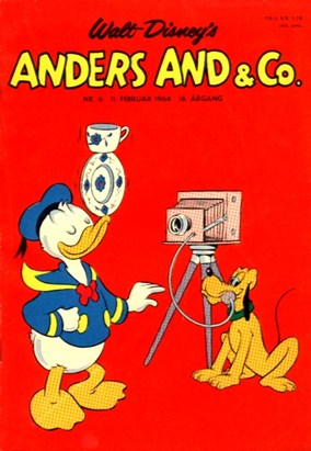 Anders And & Co. nr.  6 - 1964 (lille)
