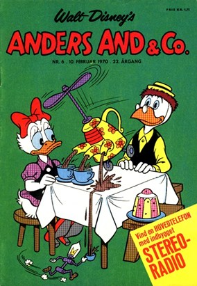 Anders And & Co. nr.  6 - 1970 (lille)