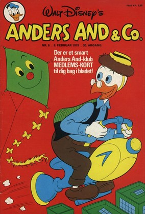 Anders And & Co. nr.  6 - 1978 (lille)