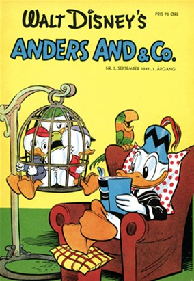 Anders And & Co. nr.  7 - 1949 (lille)