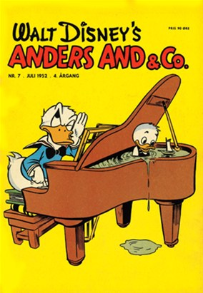 Anders And & Co. nr.  7 - 1952 (lille)