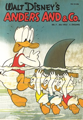 Anders And & Co. nr.  7 - 1953 (lille)