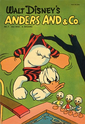 Anders And & Co. nr.  7 - 1954 (lille)