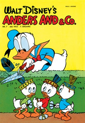Anders And & Co. nr.  7 - 1955 (lille)