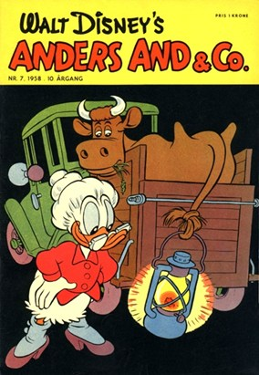 Anders And & Co. nr.  7 - 1958 (lille)