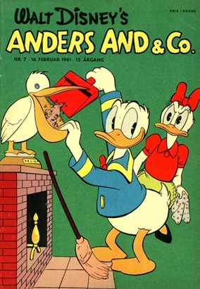 Anders And & Co. nr.  7 - 1961 (lille)