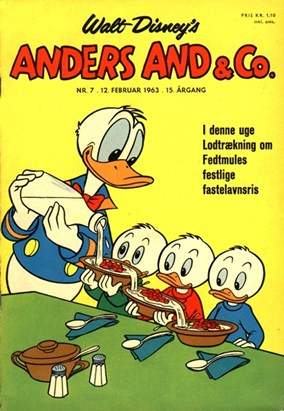 Anders And & Co. nr.  7 - 1963 (lille)