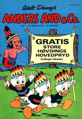 Anders And & Co. nr.  7 - 1971 (lille)