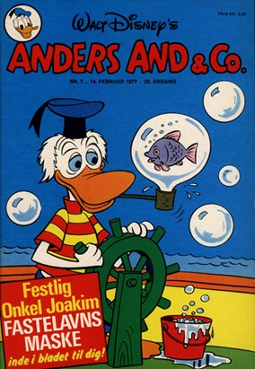 Anders And & Co. nr.  7 - 1977 (lille)