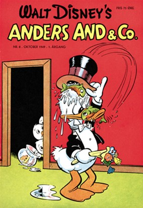 Anders And & Co. nr.  8 - 1949 (lille)