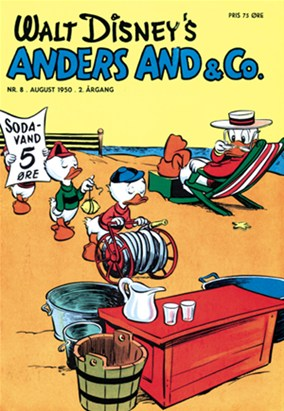 Anders And & Co. nr.  8 - 1950 (lille)
