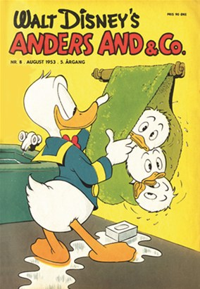 Anders And & Co. nr.  8 - 1953 (lille)