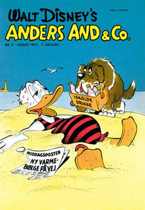 Anders And & Co. nr.  8 - 1955 (lille)