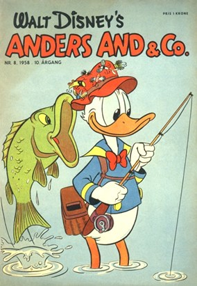Anders And & Co. nr.  8 - 1958 (lille)