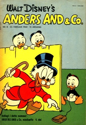Anders And & Co. nr.  8 - 1960 (lille)