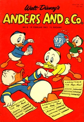 Anders And & Co. nr.  8 - 1963 (lille)