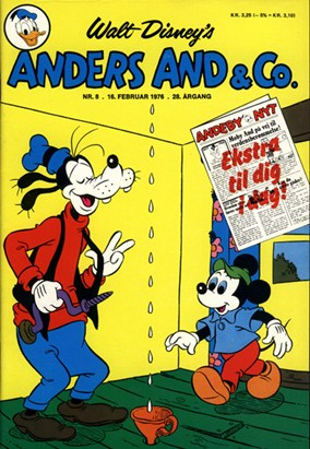 Anders And & Co. nr.  8 - 1976 (lille)