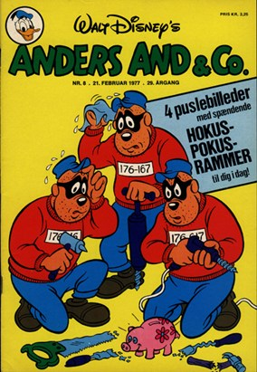 Anders And & Co. nr.  8 - 1977 (lille)