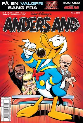 Anders And & Co. nr.  8 - 2014 (lille)