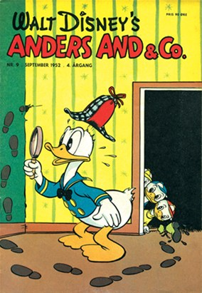 Anders And & Co. nr.  9 - 1952 (lille)