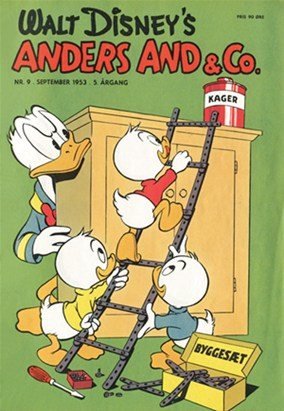 Anders And & Co. nr.  9 - 1953 (lille)