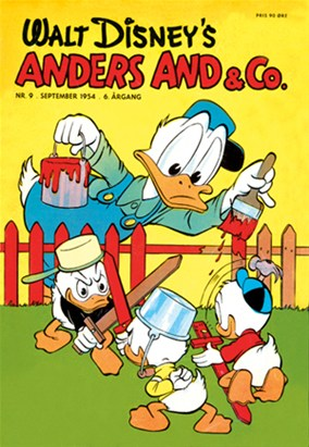 Anders And & Co. nr.  9 - 1954 (lille)