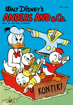 Anders And & Co. nr.  9 - 1956 (lille)