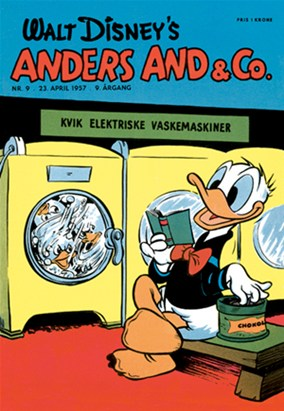 Anders And & Co. nr.  9 - 1957 (lille)