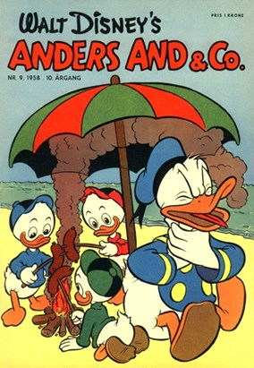 Anders And & Co. nr.  9 - 1958 (lille)