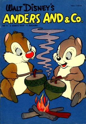 Anders And & Co. nr.  9 - 1959 (lille)