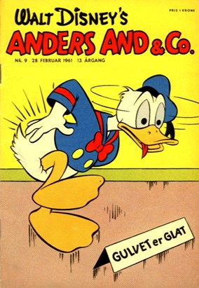 Anders And & Co. nr.  9 - 1961 (lille)