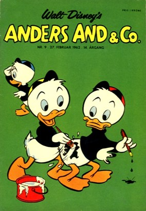 Anders And & Co. nr.  9 - 1962 (lille)