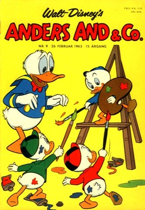 Anders And & Co. nr.  9 - 1963 (lille)