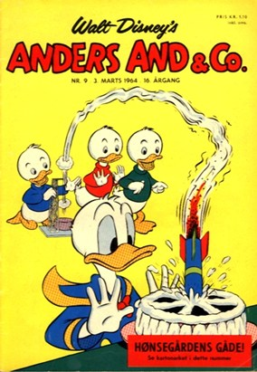 Anders And & Co. nr.  9 - 1964 (lille)