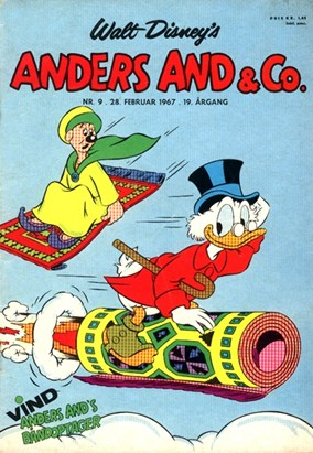 Anders And & Co. nr.  9 - 1967 (lille)
