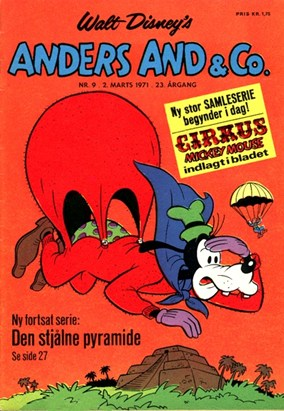 Anders And & Co. nr.  9 - 1971 (lille)