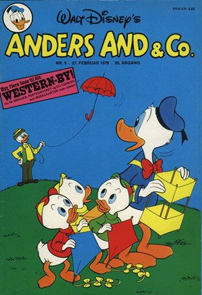 Anders And & Co. nr.  9 - 1978 (lille)